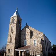 Crockette's Images Wedding Photography- Outdoor photo of church.