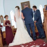 Crockette's Images Wedding Photography- Indoor wedding ceremony photo.