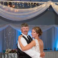 Crockette's Images Wedding Photography- Photo of bride dancing with her father at the wedding recept